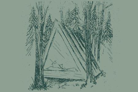 Glamping @ Tops'l Farm - A Frame Cabins (5 Sites) - Waldoboro - Blockhütte