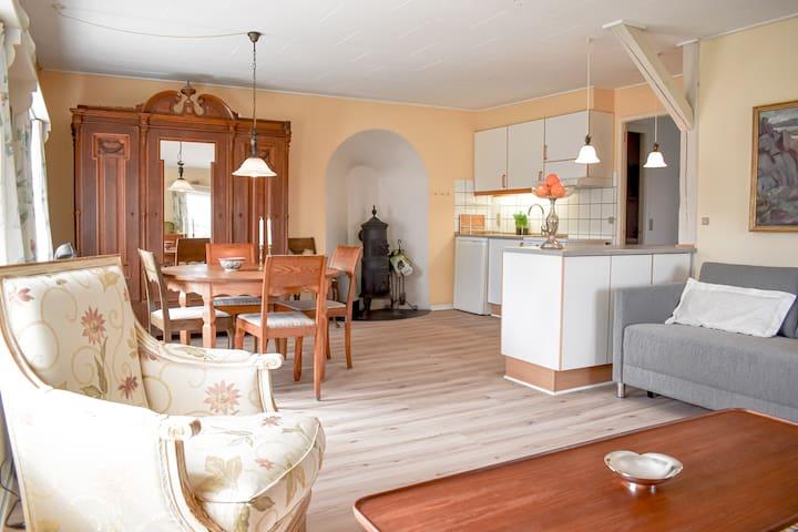 Nr. 2: Lejlighed til 4 i centrum af Svaneke