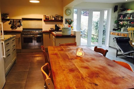 Light and comfortable family home - Lewes - Haus