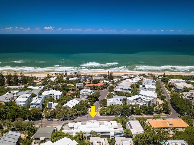Aerial Sundancer Sunshine Beach