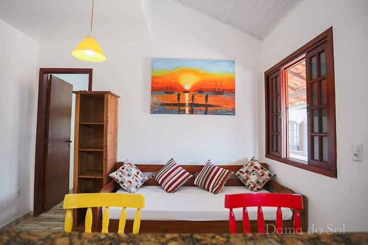 Praia de Geribá , apartamento para 4 pessoas !!