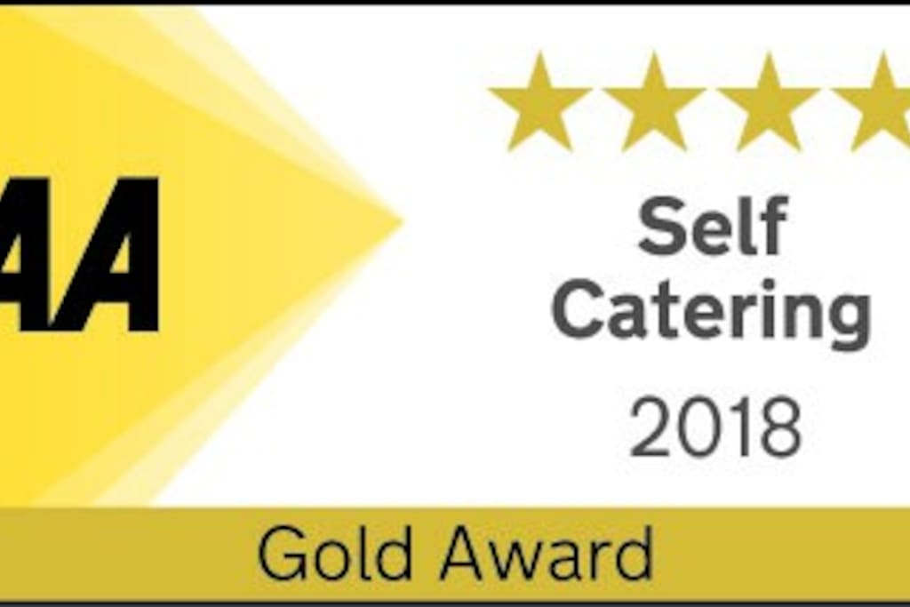Proud to be awarded AA 4 Gold Stars for Tonto's View