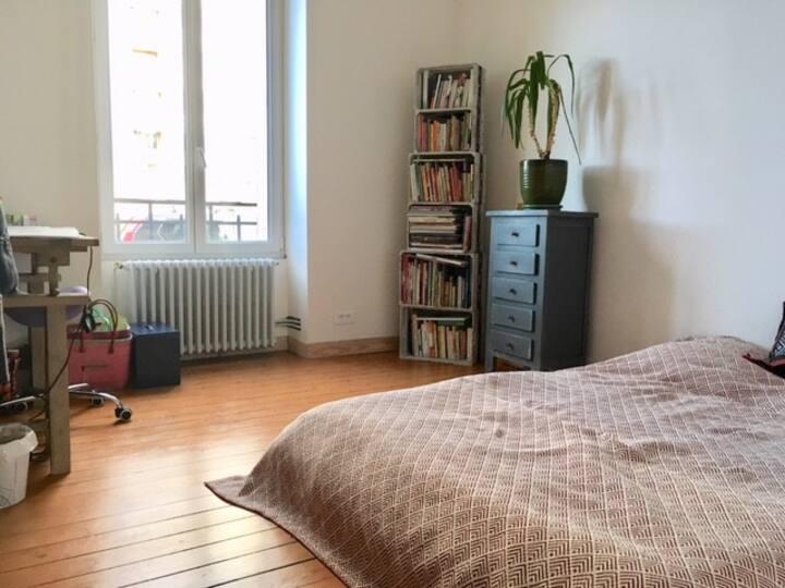 Chambre dans appartement charmant, bien situé