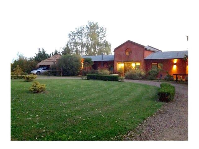 Casa de campo para familias