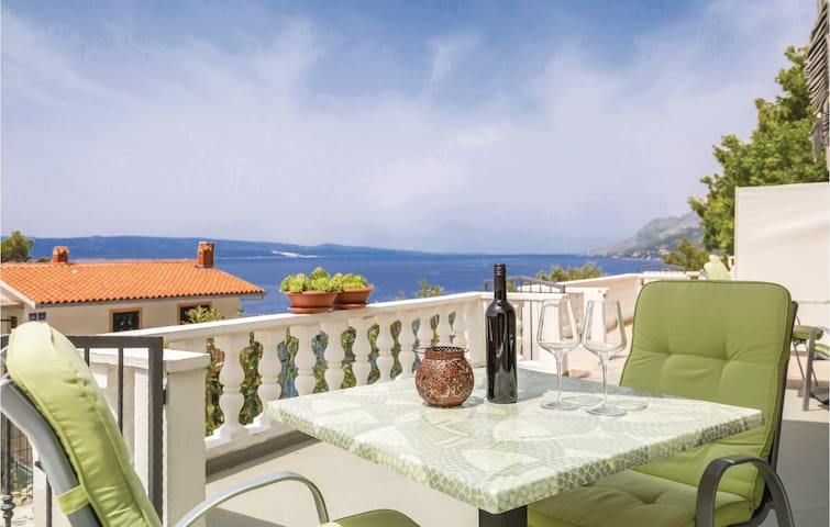 Holiday apartment with 1 room on 21m² in Brela