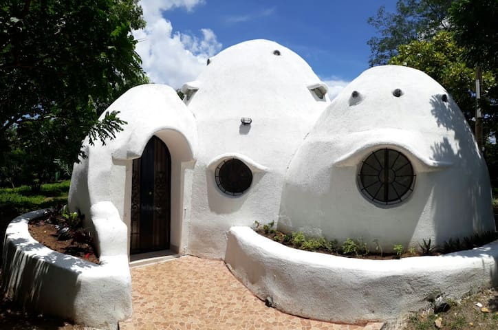 Eco-dome house in the countryside!
