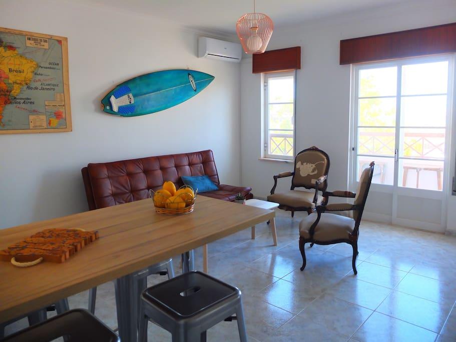 Living room vue mer