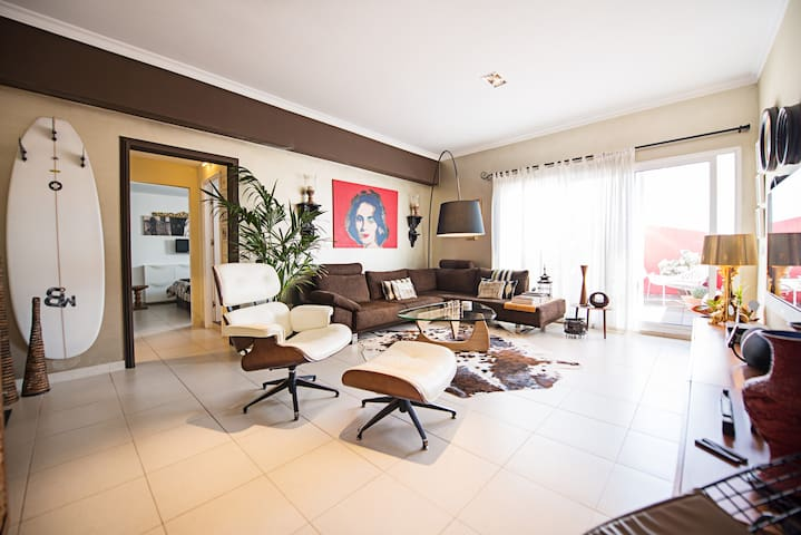 Design city-penthouse with terrace - Palmas de Gran Canaria - Huis