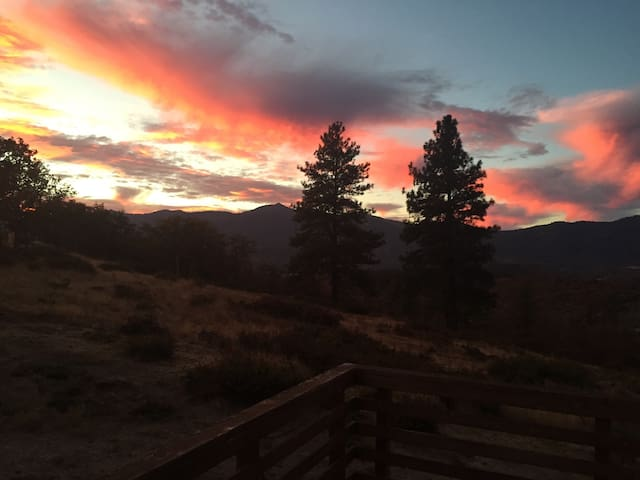 Siskiyou  Cabin on 26 Acres - Ashland - Hus