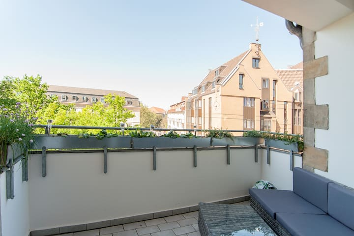 Renovated apartment in the old town - very central