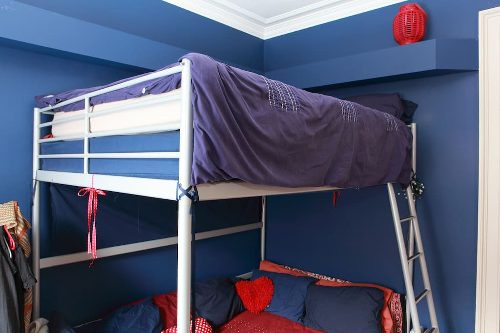 Bed room double bunk