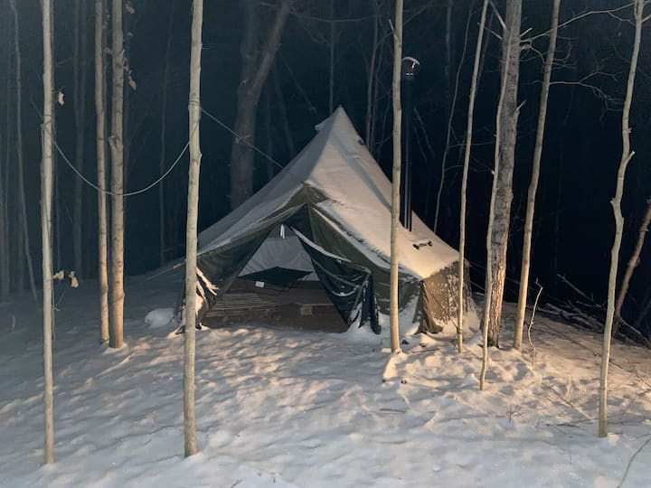"""""""Basecamp"""" The Outpost Winter Hot Tents"""