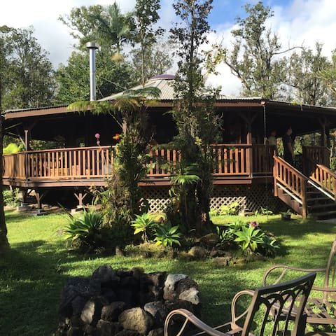 THE BIG ISLAND RAINFOREST COTTAGE - Mountain View