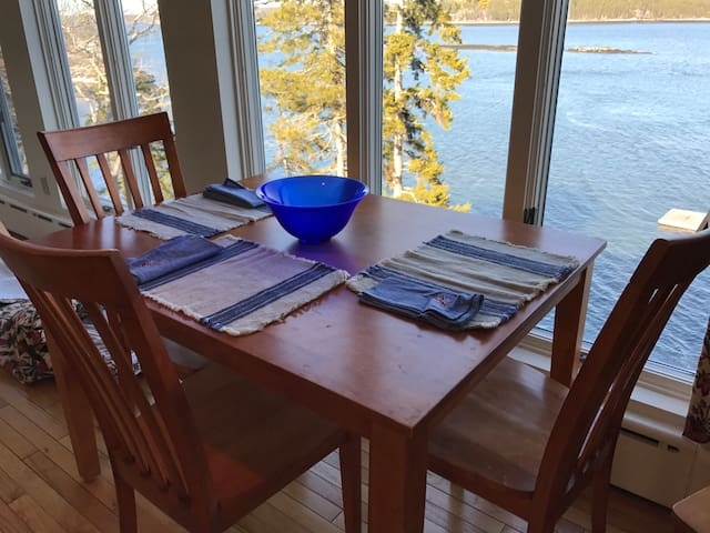 Panoramic Water Views on the Sheepscot - Wiscasset - In-law