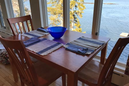 Panoramic Water Views on the Sheepscot - Wiscasset - 附屬單元(In-law)