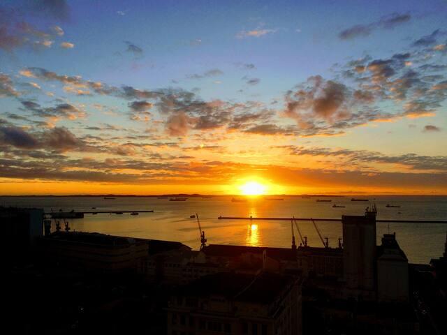 Cada por do sol é único / Every sunset is unique