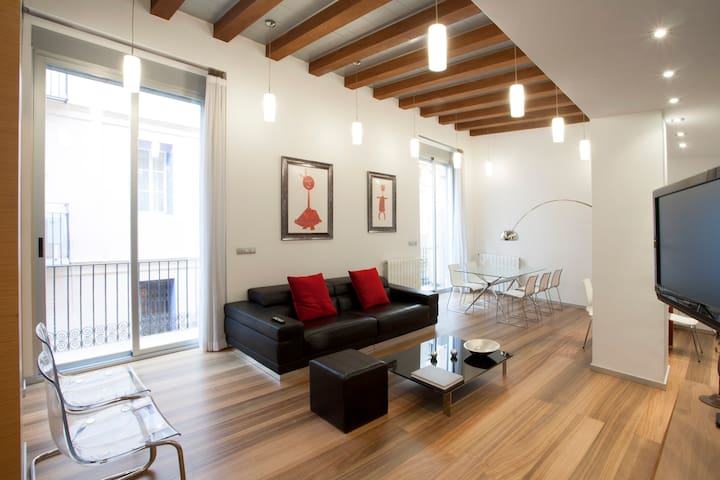 SPECTACULAR VERY CENTRAL FLAT +WIFi - València - อพาร์ทเมนท์