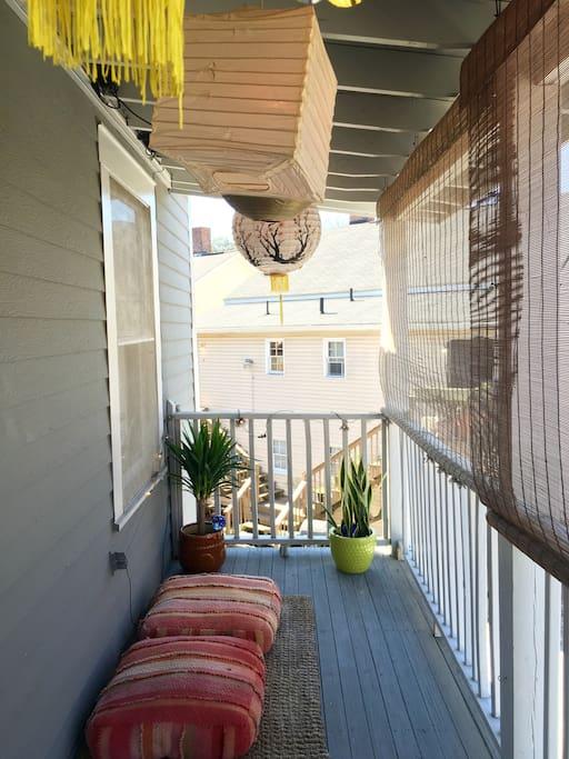 More back porch...