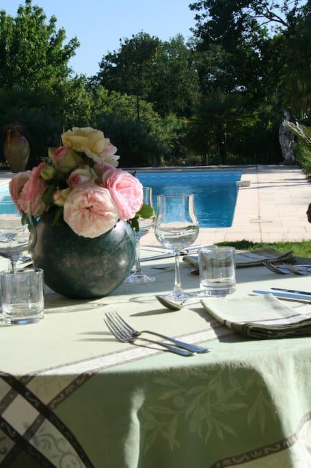 la table d hôtes aux beaux jours