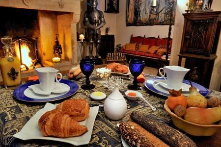B and B LE LYS DE CASTELNAUD   - Vézac - ที่พักพร้อมอาหารเช้า