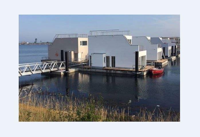 Schwimmendes Haus in Olpenitz an der Ostsee/Schlei - Kappeln - Dom