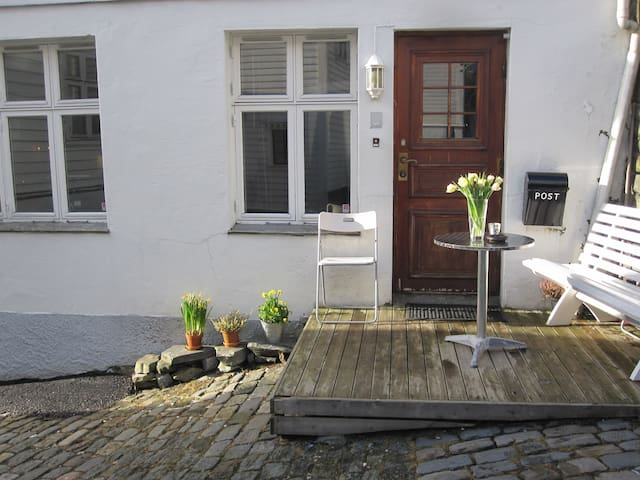 Nice apt. 2 minutes from bryggen!