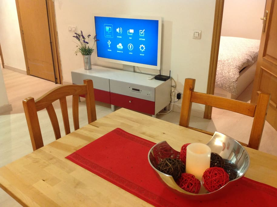Dining & Living-room with TV and wi-fi