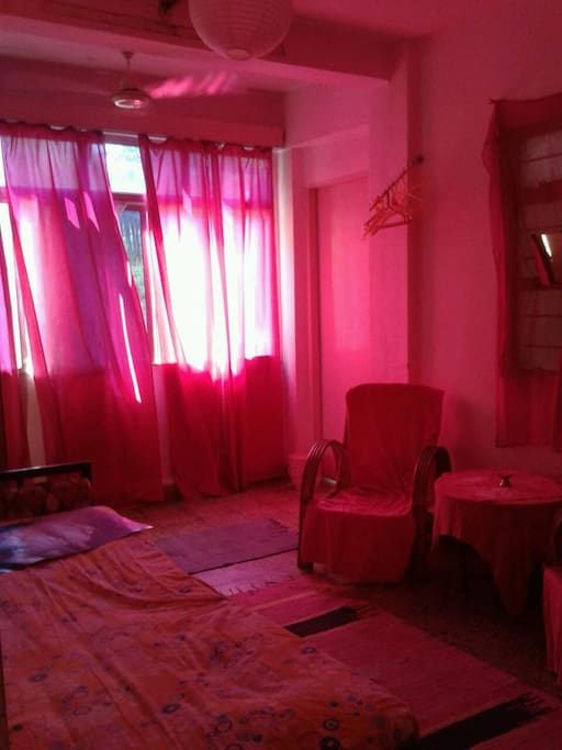 Your PINK room....by daily sun is room changing to really pink space...