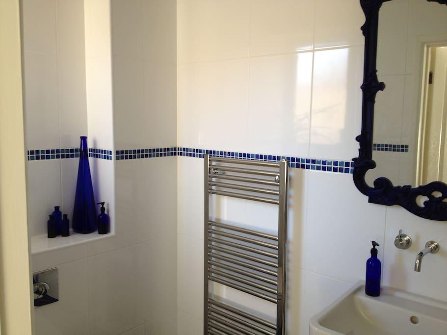 Beautiful en-suite shower room