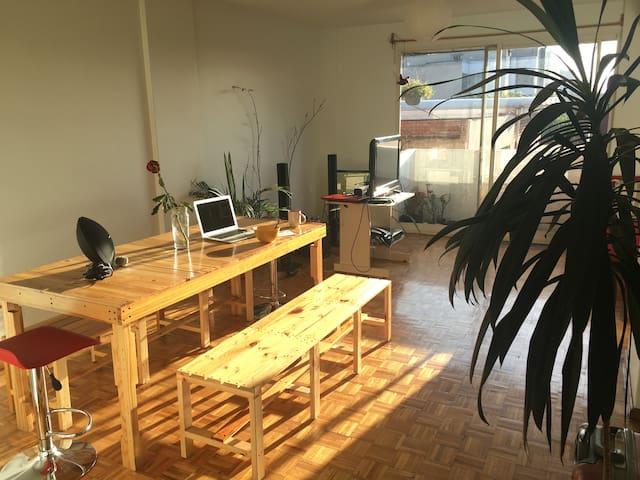 Bright, Comfortable Apt in the Heart of Roma Norte - Ciudad de México - Apartament