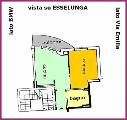 Charming apartment TORRI LOMBARDE - San Donato Milanese - Leilighet