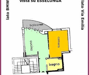 Bilocale di pregio Torri Lombarde - San Donato Milanese