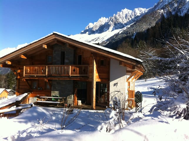 F1 equipped in cottage (les Houches)