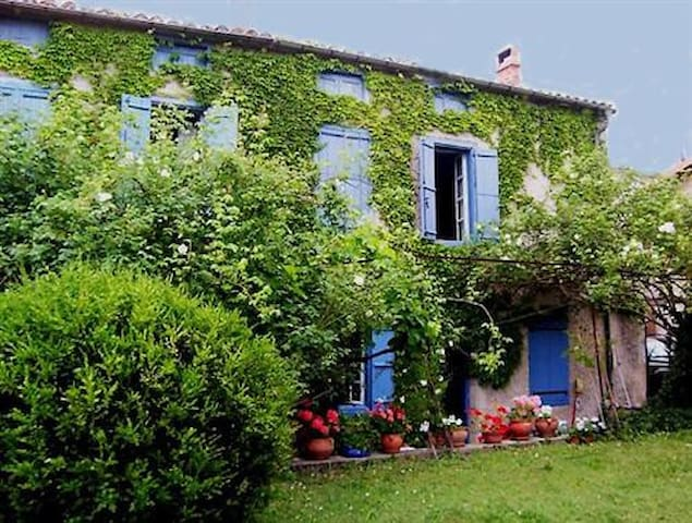 Charming village house with pool in South France - Caudeval - Casa