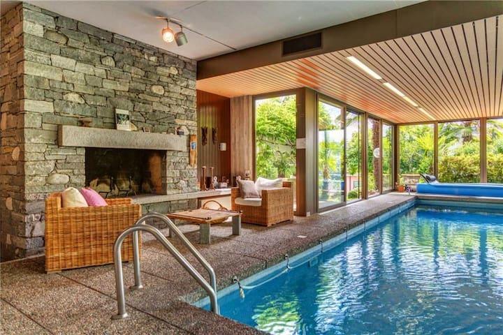 Guestroom mit Pool, Sauna und Kamin Wellness pure!