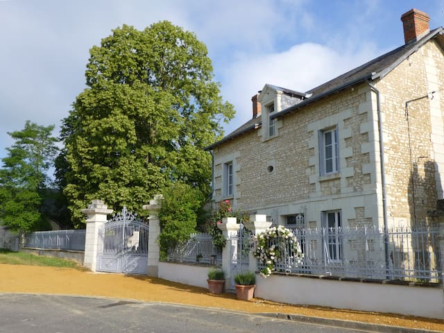 Les jardins de Claunay - La Roche-Rigault - Casa