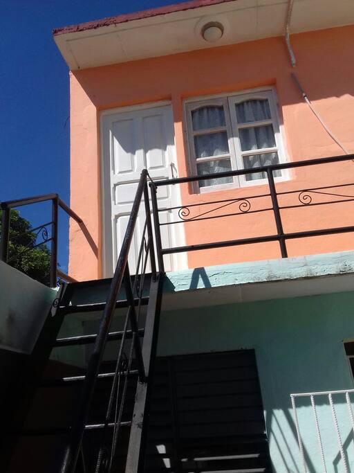 Frente de la Habitación