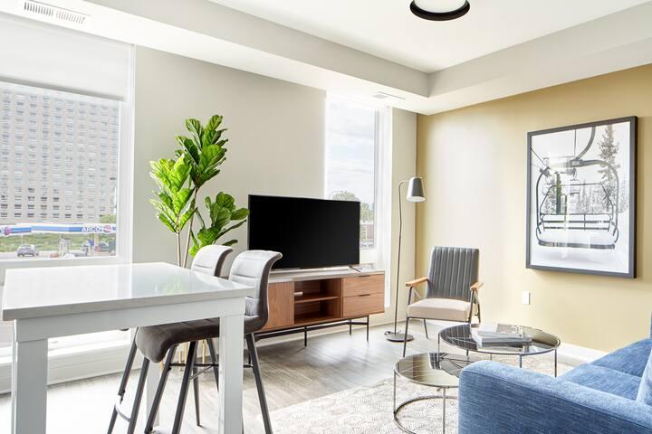 Sonder | Luna Apartments | Cozy 2BR + Gym