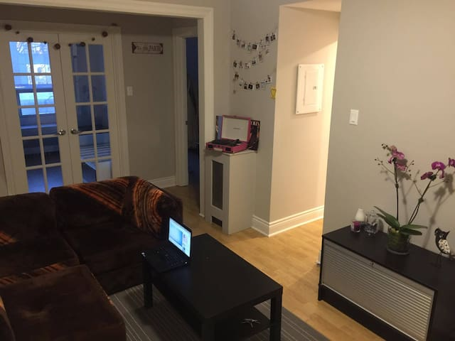 Cozy Private Big Bedroom ! - Montréal - Apartament
