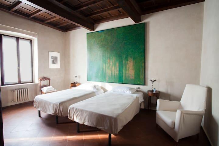 Casa del Pittore Stanza Verde - Mantova - Hus
