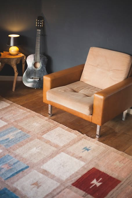 Living room - reading chair
