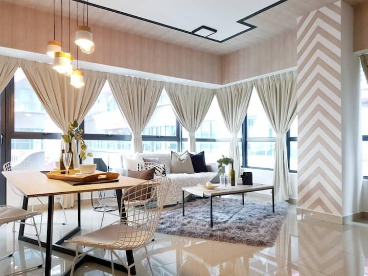 Arte Plus 2BR Designer Suite Near KL City Centre
