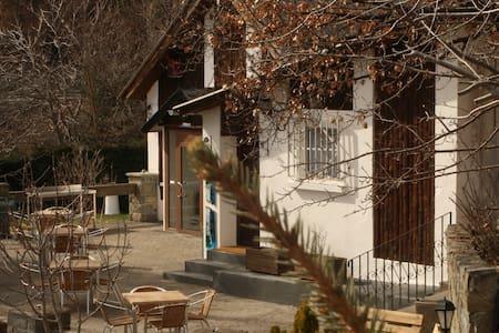Habitación acogedora + terraza, parcela y parking - El Pueyo de Jaca