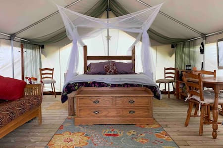 Wildflower*Remote*Oceanfront*Private*Safari Tent