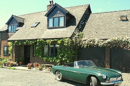 Musical home in lovely Wales Rm 1 - Llanwrtyd Wells - Bed & Breakfast