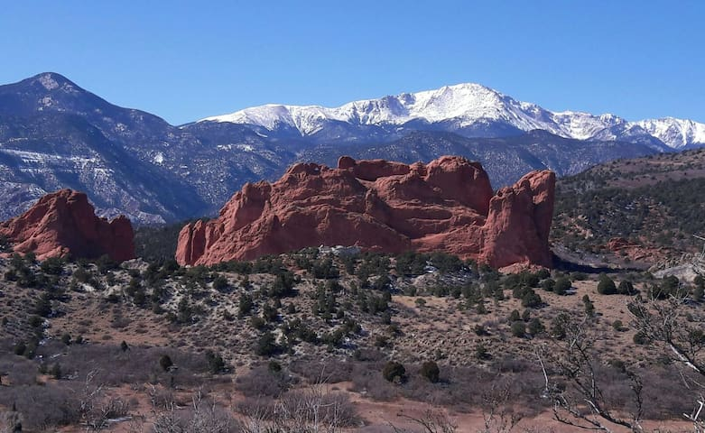 Luxurious Private Suite - Garden of the Gods - Colorado Springs - Casa
