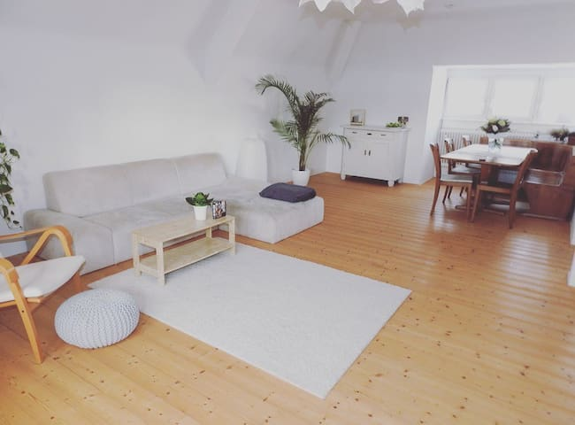Homely, light-filled Apartment,close to BASELWORLD - Grenzach-Wyhlen - Διαμέρισμα