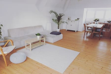 Homely, light-filled Apartment,close to BASELWORLD - Grenzach-Wyhlen - Lägenhet