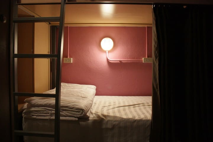 Mixed Dorm Queen Bed / Breakfast (Merge Hostel)