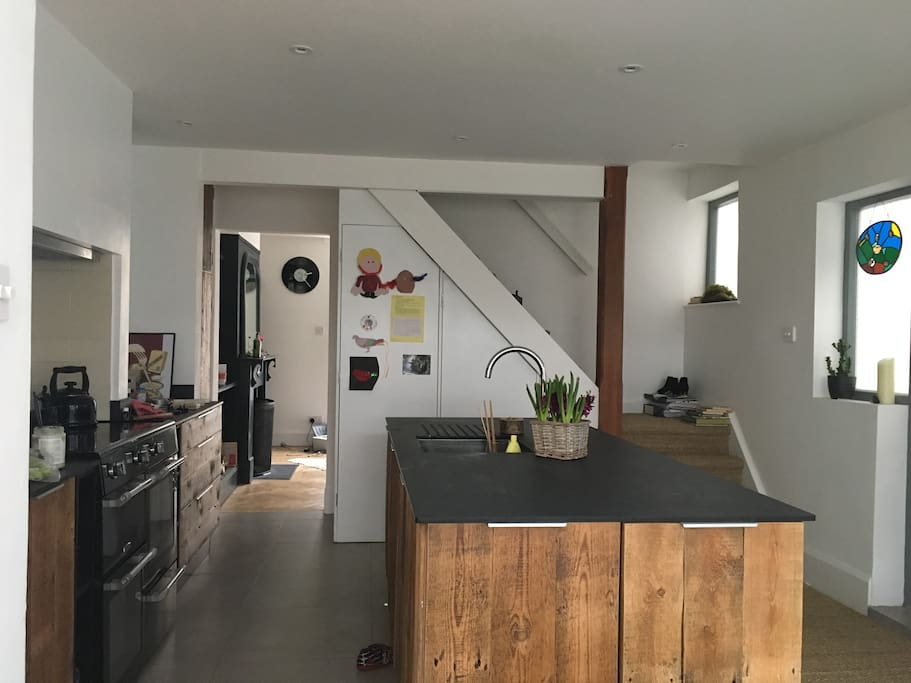 Brand new open plan kitchen living area extension